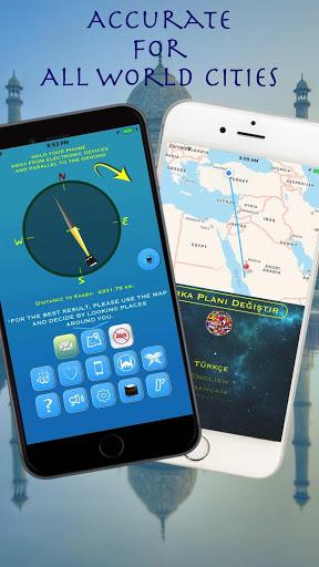 i-Qibla Finder, Qibla Direction, Qibla Compass