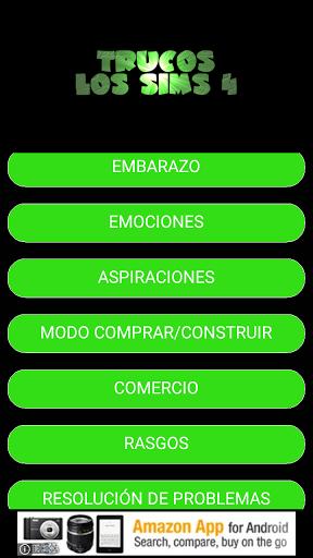 Trucos Los Sims 4 for Samsung Galaxy J7 Prime - free