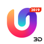 icon U Launcher 3D – Live Wallpaper, Free Themes, Speed