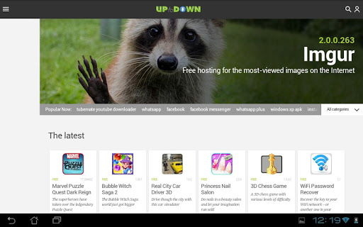 Uptodown Lite for Samsung Galaxy Y S5360 - free download APK