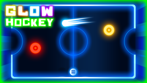Glow Air Hockey HD
