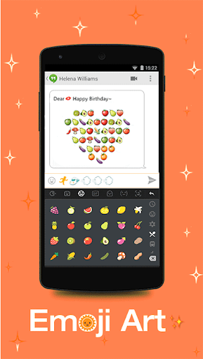 TouchPal Emoji - Color Smiley for Oppo R11 Plus - free download APK
