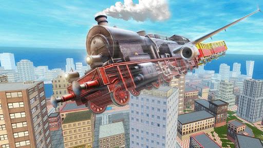 Flying Tourist Train Simulator