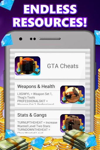 Game Cheats for Android for Oppo A37 - free download APK