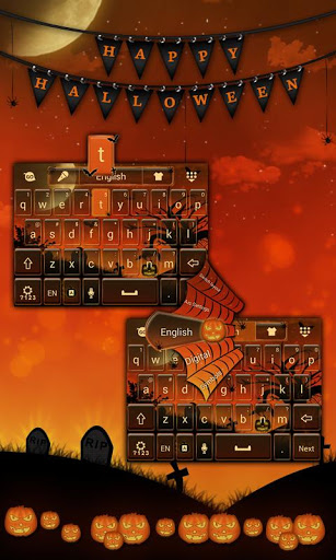 Happy Halloween Keyboard Theme