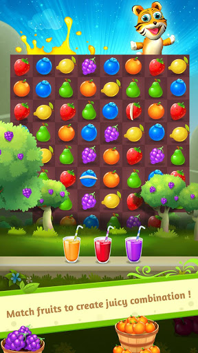 Free download Fruit Juice - Match 3 Game APK for Android