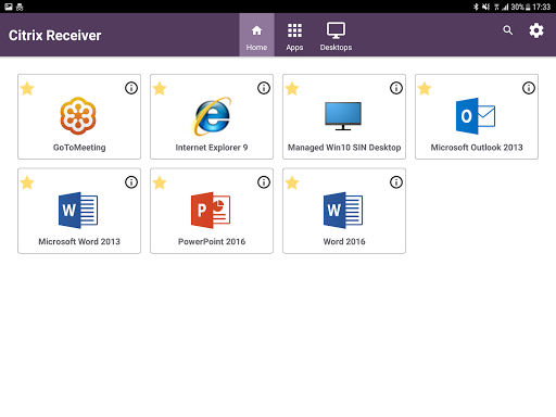 Free download Citrix Receiver APK for Android