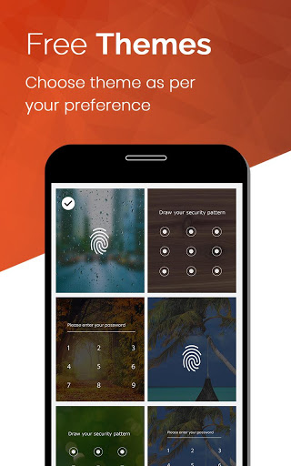 AppLock: PIN,Pattern & Fingerprint Support for Vivo Y69 - free