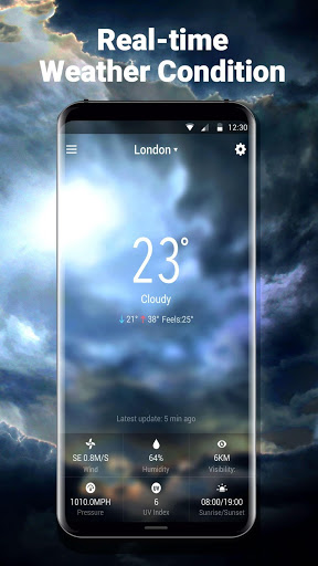 New 2018 Weather App & Widget for Samsung Galaxy J4 (2018) - free
