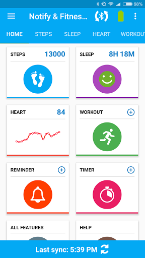 Notify & Fitness for Mi Band for Oppo A37 - free download APK file