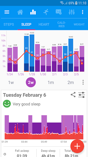 Notify & Fitness for Mi Band for Huawei Honor 8 Pro - free