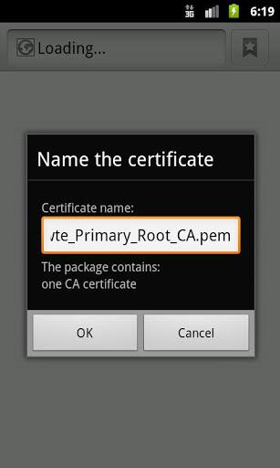 Certificate Installer for Lenovo K6 Power - free download APK file