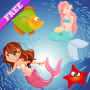 icon Mermaid Puzzles for Toddlers