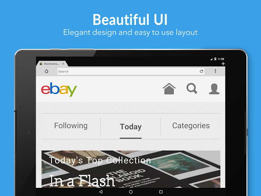Web Browser & Explorer for Alcatel U5 - free download APK file for U5