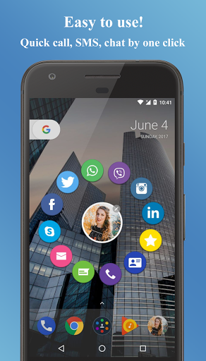 Contacts Widget for Gionee F100 - free download APK file for