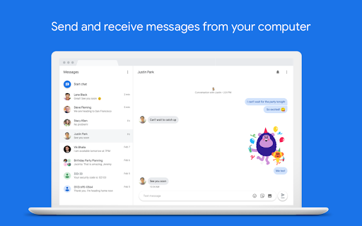 Android Messages for Gionee F100 - free download APK file