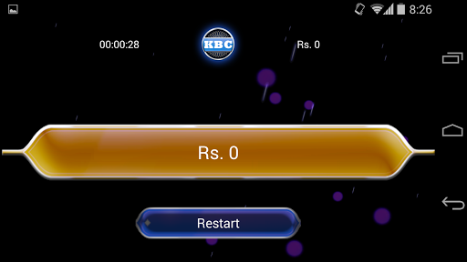 KBC Unlimited Quiz game
