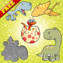 icon Dinosaurs Puzzles for Toddlers