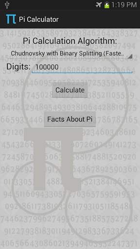 Pi Calculator