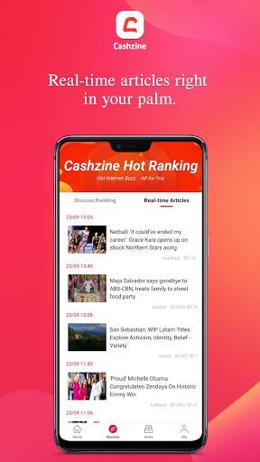 Cashzine - Earn Free Cash via newsbreak