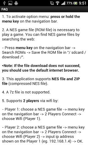 2P NES Emulator for HTC Desire 830 - free download APK file