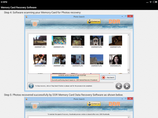 ddr memory card recovery software free