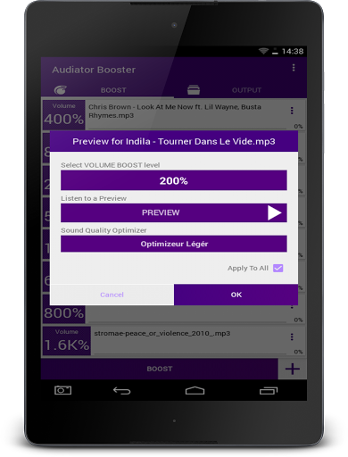 Free download MP3 VOLUME BOOSTER GAIN LOUD APK for Android