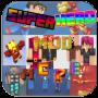 icon Heroes Mod PE Minecraft X