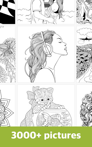 Free Coloring Book for Adults: ColorColor 2017