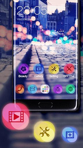 Neon Night Theme for tecno W5 Lite - free download APK file