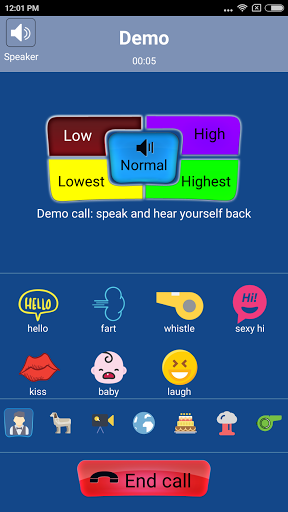 Call Voice Changer - IntCall for Lenovo A7700 - free download APK