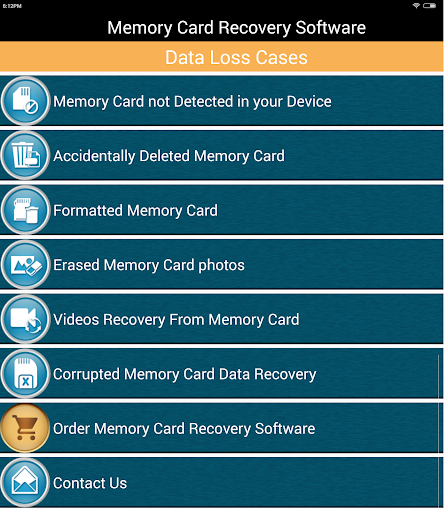 Memory Card Recovery Software for Lephone W7 - free download