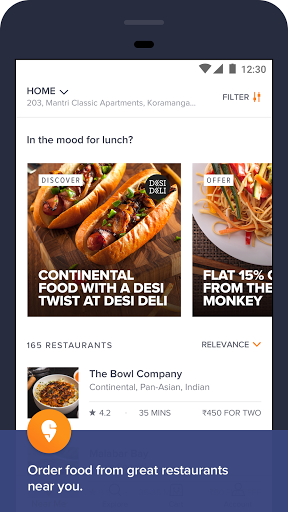 Free download Swiggy Food Order & Delivery APK for Android