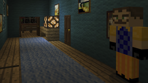 Map Hello Neighbor for Minecraft PE