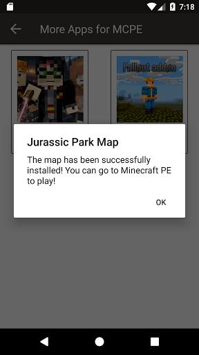 Free download Map Jurassic Craft addon for MInecraft PE APK