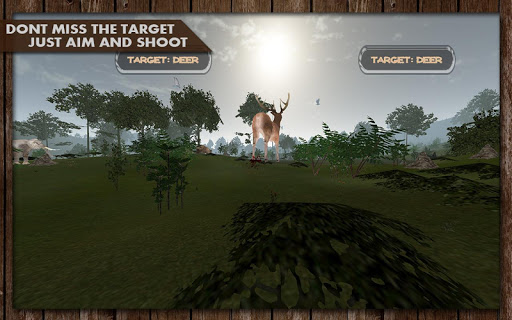 VR Jungle Animal Hunter Card