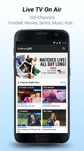 StarTimes - Live TV & Football for Nokia 8 - free download