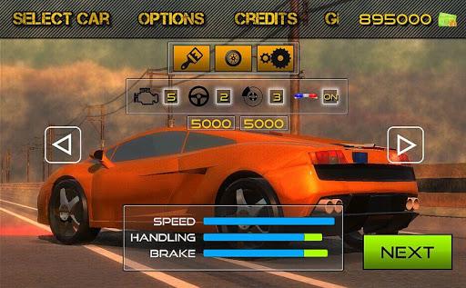 racing car game