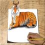 icon Draw Animals 3D
