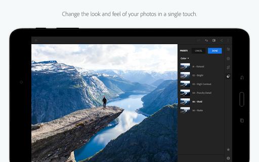 Adobe Photoshop Lightroom for Xiaomi Redmi Note 4 - free