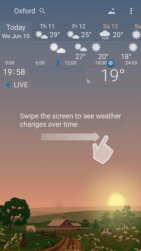Precise Weather YoWindow