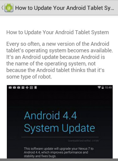 How to Update Software