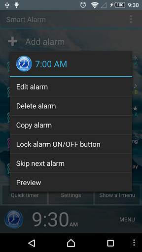 Smart Alarm Free (Alarm Clock) for oppo A83 - free download APK file