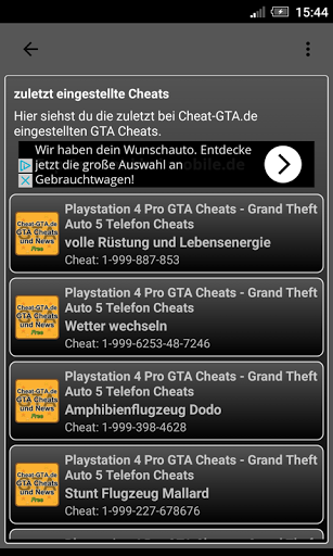 Cheat-GTA.de App