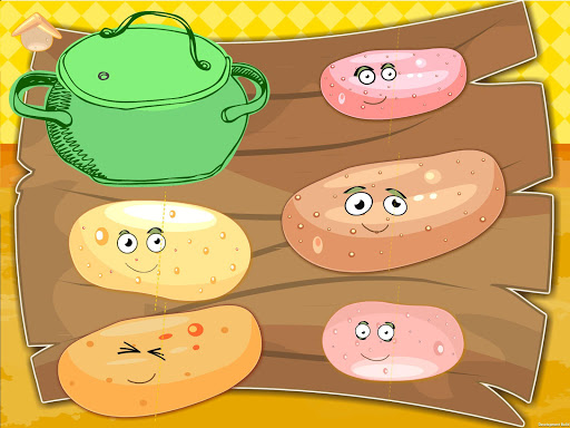 Funny Veggies! Game for babies