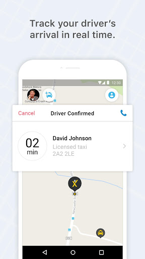 mytaxi – The Taxi App for Sony Xperia L1 - free download APK file
