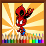 icon Coloring Paint Kids