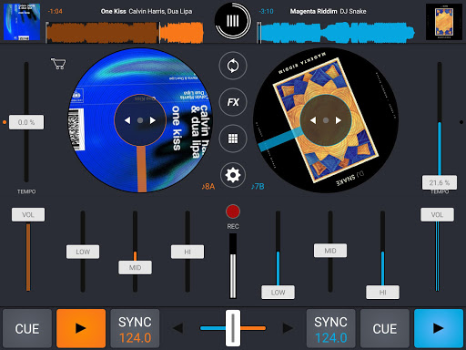 Cross DJ Free - Mix your music for BlackBerry DTEK60 - free