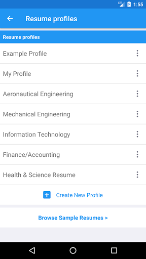 Smart Resume Builder Cv Free For Samsung Galaxy S8 Free Download