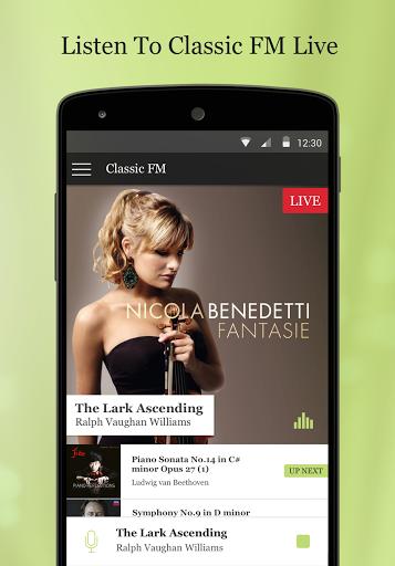 Classic FM Radio App for LG K10 LTE - free download APK file